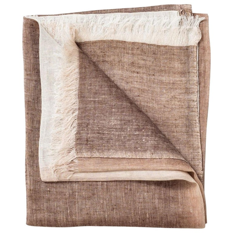 MACE Linen Scarf / Wrap  For Sale