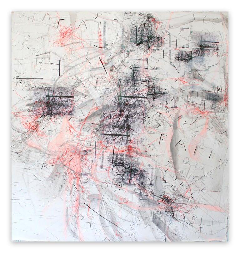 Macha Poynder Abstract Painting - Soon Soon Soon