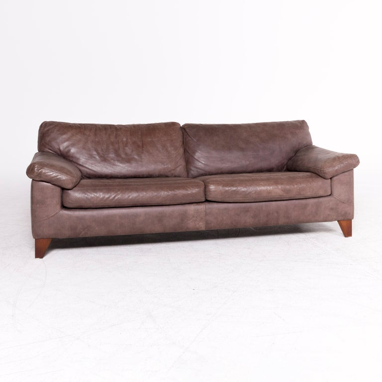 Machalke Design Bank.Machalke Diego Designer Leather Sofa Brown By Teun Van Zanten
