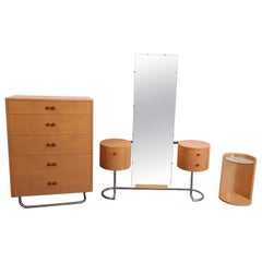 Machine Age Art Deco Gilbert Rohde for Herman Miller Three-Piece Bedroom Suite