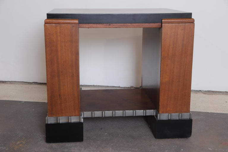 Machine Age Art Deco Paul Frankl Skyscraper Library Occasional Table For Sale 4