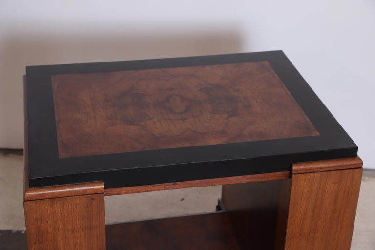 Machine Age Art Deco Paul Frankl Skyscraper Library Occasional Table For Sale 2