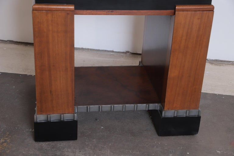 Machine Age Art Deco Paul Frankl Skyscraper Library Occasional Table For Sale 3