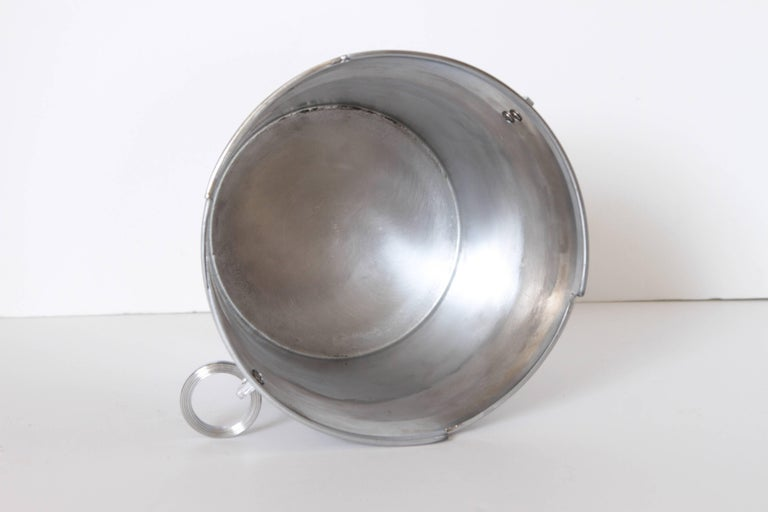 Machine Age Art Deco Rockwell Kent Chase Bacchus Wine Cooler / Champagne Bucket For Sale 3