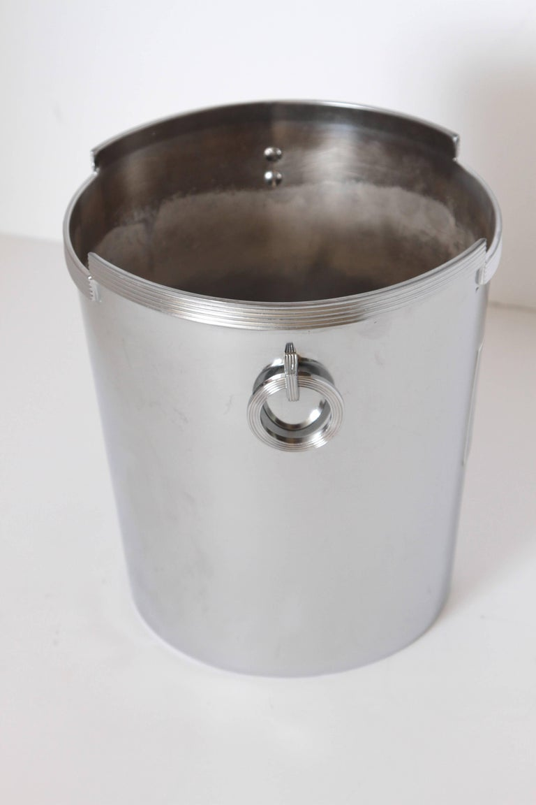 Machine Age Art Deco Rockwell Kent Chase Bacchus Wine Cooler / Champagne Bucket For Sale 1
