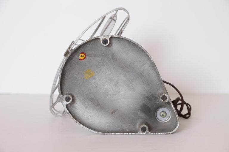 Machine Age Art Deco Streamline Aluminum Zephyr Airkooler Goose-Neck Fan For Sale 12