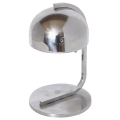 Machine Age Art Deco Streamline Chrome Table Lamp in Donald Deskey Manner