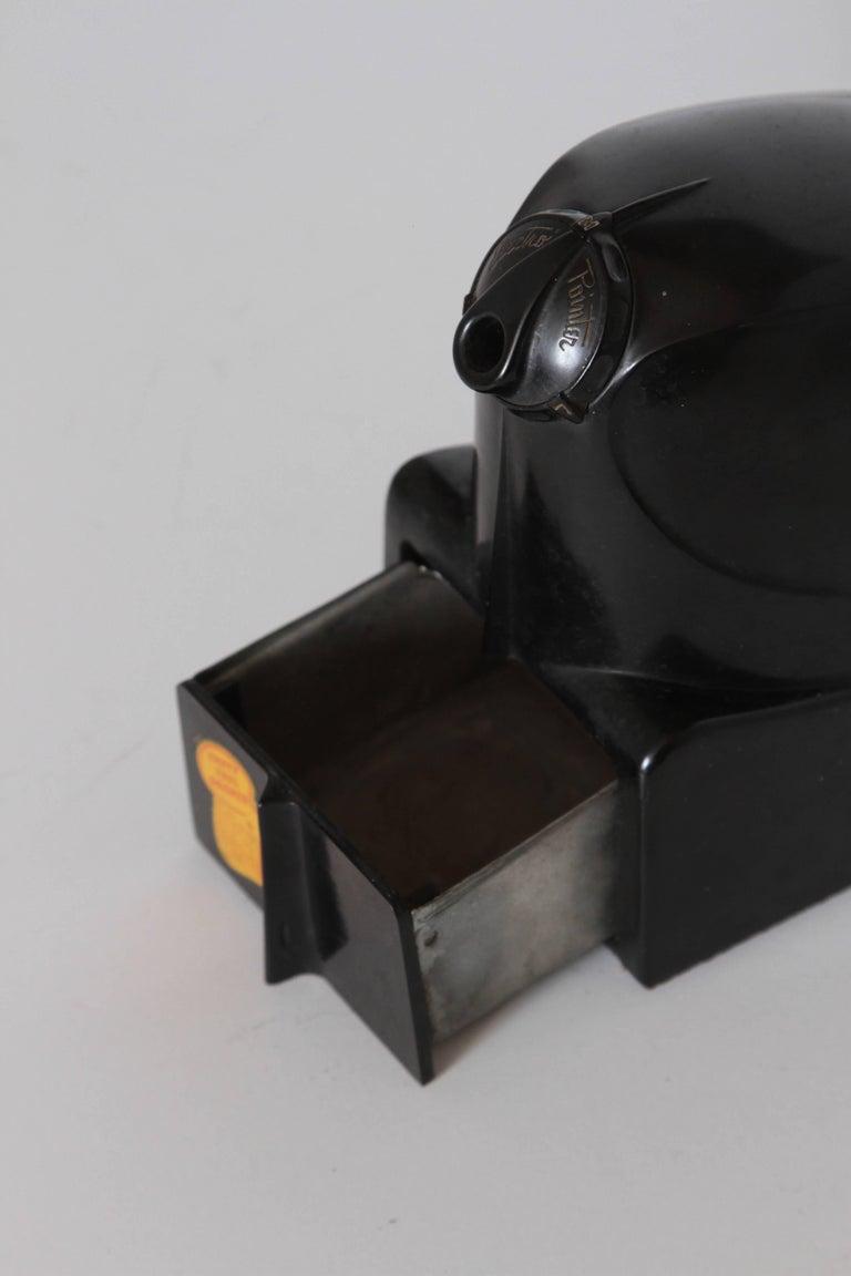 Machine Age Art Deco Streamline Electro Pointer Bakelite Pencil Sharpener 4