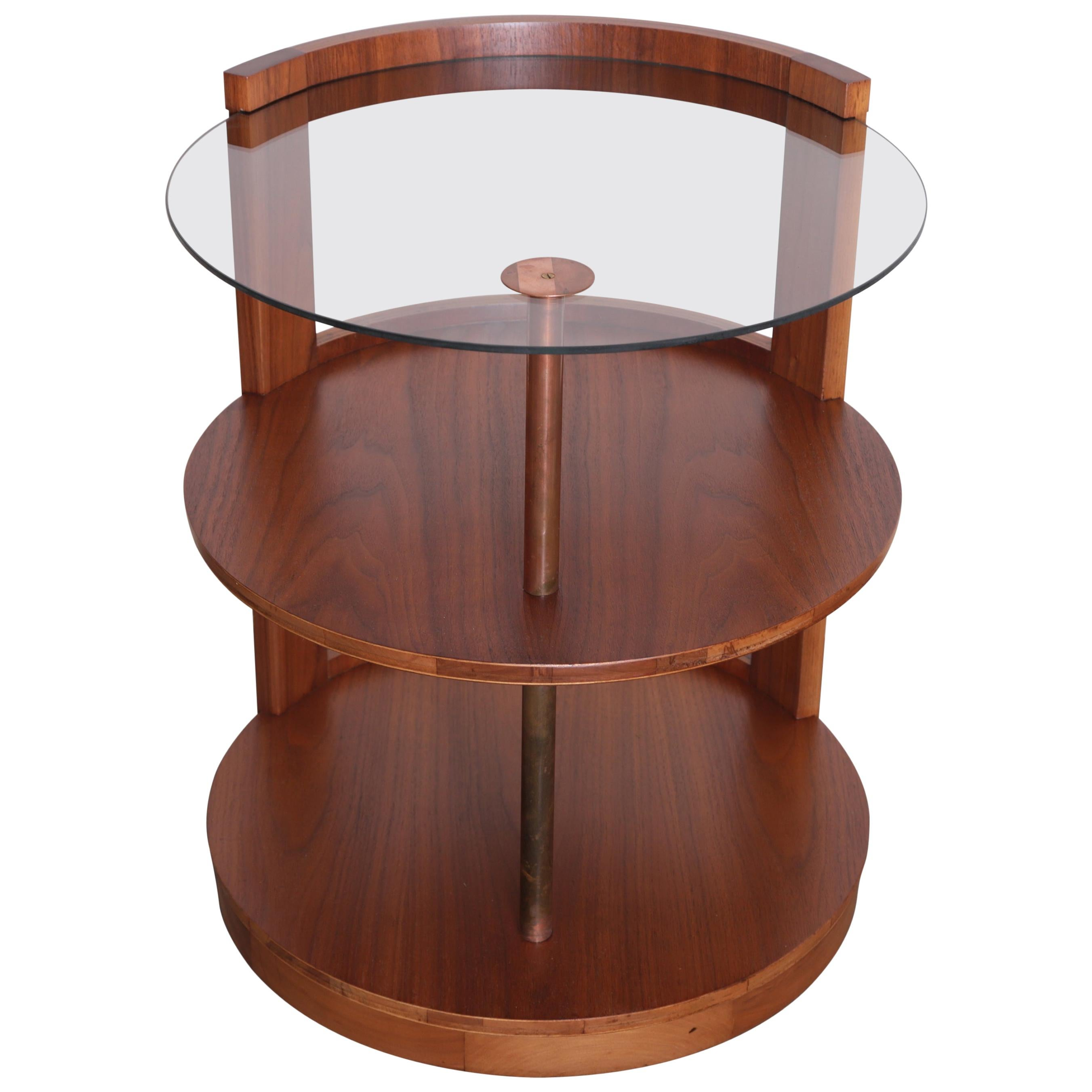 Machine Age Art Deco Streamline Gilbert Rohde for Kroehler Cocktail Table