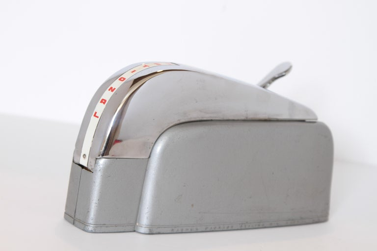 American Machine Age Art Deco Streamline Industrial Design Nashua Tape Dispenser Arens For Sale