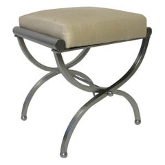 Machine Age Art Deco Vanity Stool
