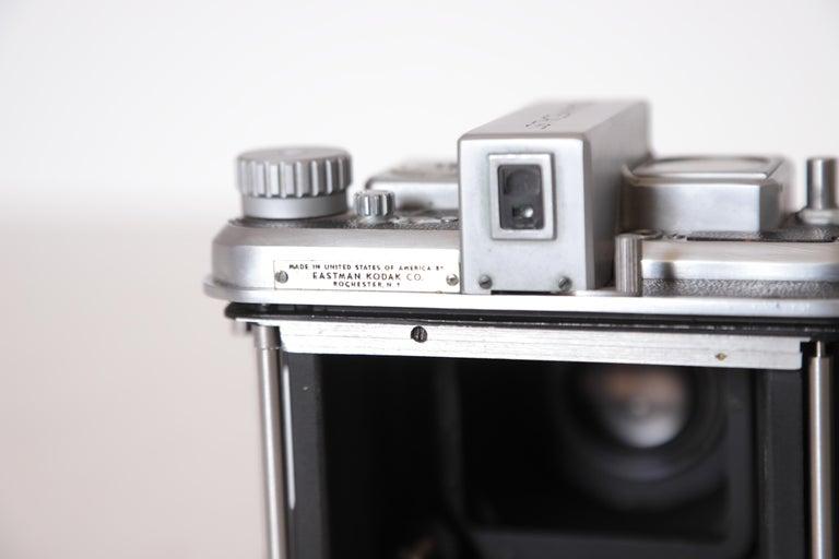 Machine Age Art Deco Walter Dorwin Teague Kodak Medalist Camera with Case For Sale 12