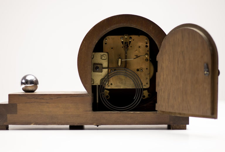 Machine Age Dutch Streamlined Clock For Sale At 1stdibs
