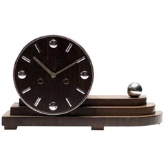 Machine Age Dutch Streamlined Clock
