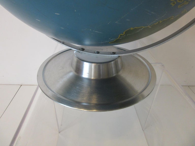 Machine Age Industrial Globe by A.J. Nystrom For Sale 3