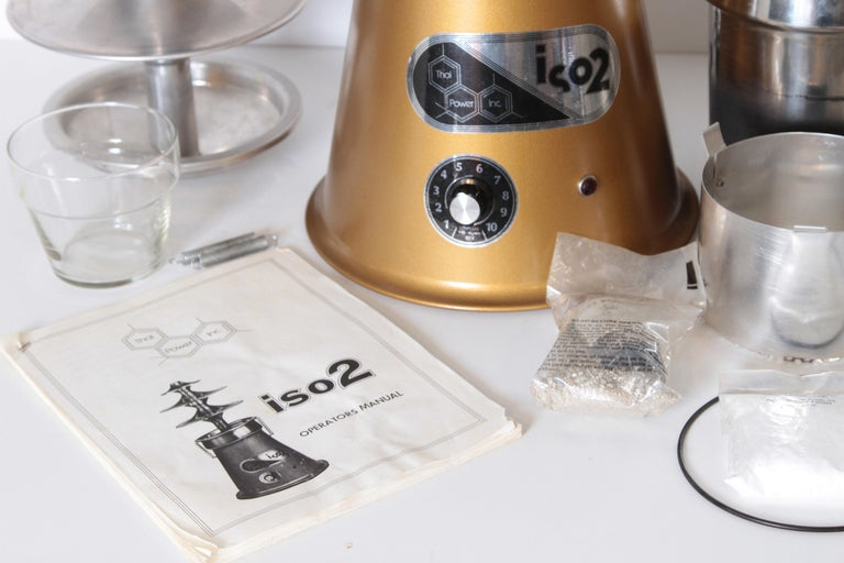 Machine Age Original Thai Power ISO2 Isomerizer, Essential Oil Extractor, 1975 For Sale 4
