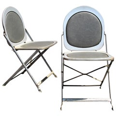 Machine Age Steel Folding Chairs