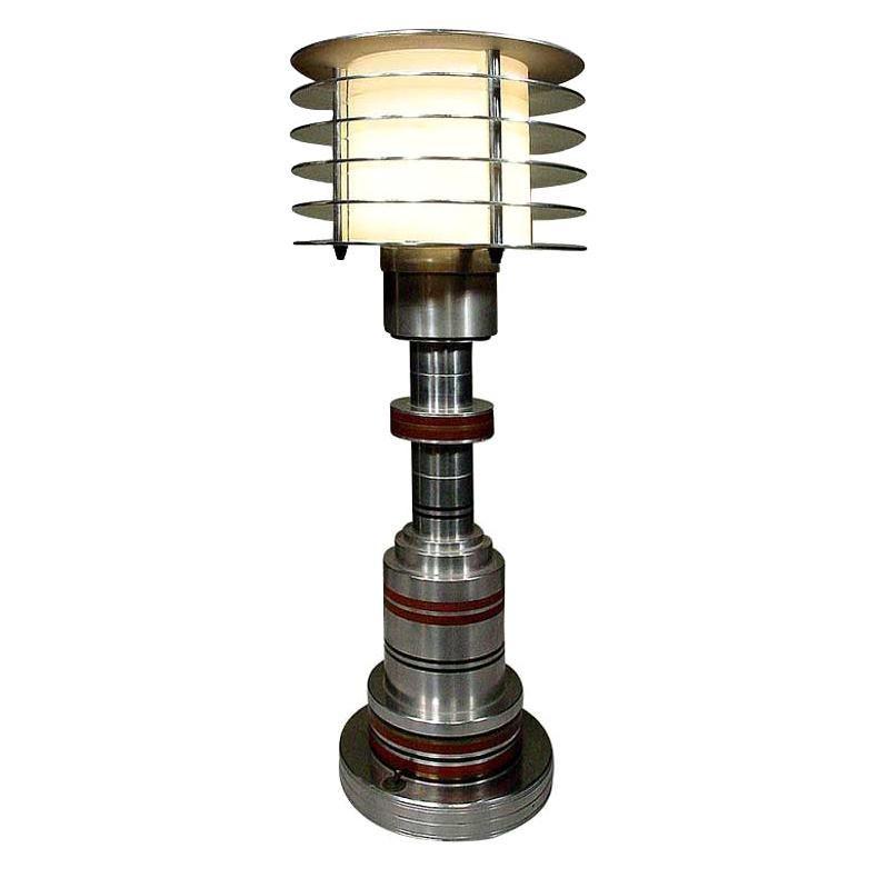 Machine Age Table Lamp by Walter Von Nessen