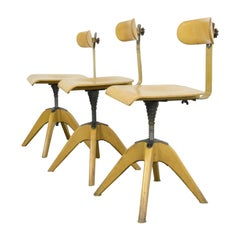 Machinists Chairs by Bombenstabil, circa 1930s