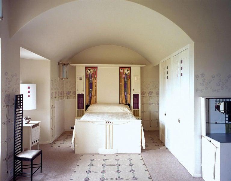 Chales Rennie Mackintosh Cassina Silk Velvet 292 Hill House 1 Chair Italy 1960s 1
