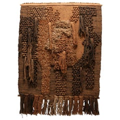 Macrame Wall tapestry Belgium 1970s by Tapta