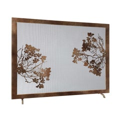 Madalyn Fireplace Screen in Tobacco
