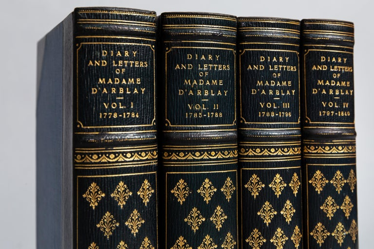 Madame Frances Arblay, Diary and Letters In Good Condition For Sale In New York, NY