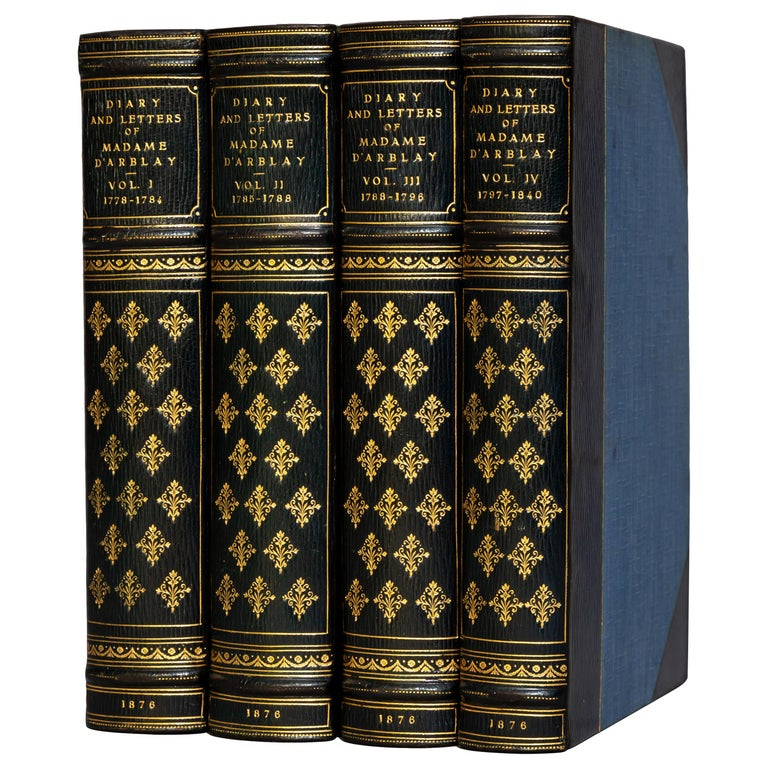 Madame Frances Arblay, Diary and Letters For Sale