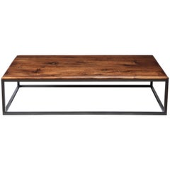 Made to Order 18th Century Italian Thick Walnut Coffee Table