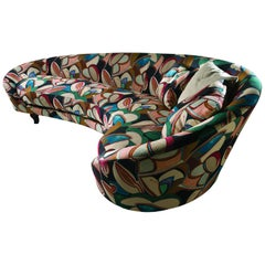Madeleine Sofa in Multi-Color Upholstery by Fratelli Boffi