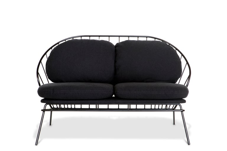 Other Madeleine Sofa or Loveseat, Contemporary Brazilian Design For Sale
