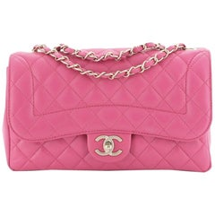 Mademoiselle Chic Flap Bag Quilted Lambskin Medium