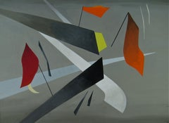 1940s Modernist painting by Madge Knight