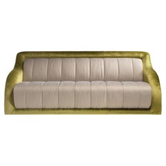 Madison Fully Upholstered Sofa with Fabric