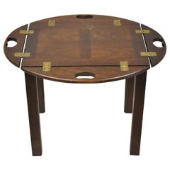 Madison Square Furniture English Chippendale Small Butlers Coffee Side Table