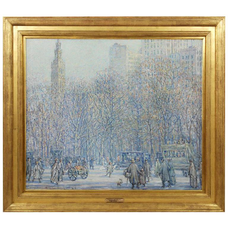 Madison Square Tower and Park by Frank Usher De Voll For Sale