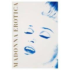 Madonna 'Erotica' Original Vintage US Promotional Poster, 1992