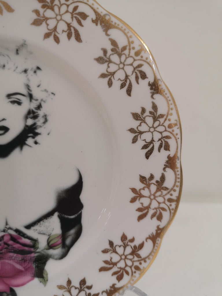 Madonna side plate For Sale 1