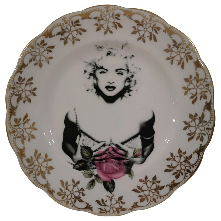 Madonna side plate For Sale