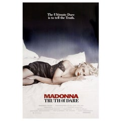 'Madonna: Truth or Dare' 1991 U.S. One Sheet Film Poster