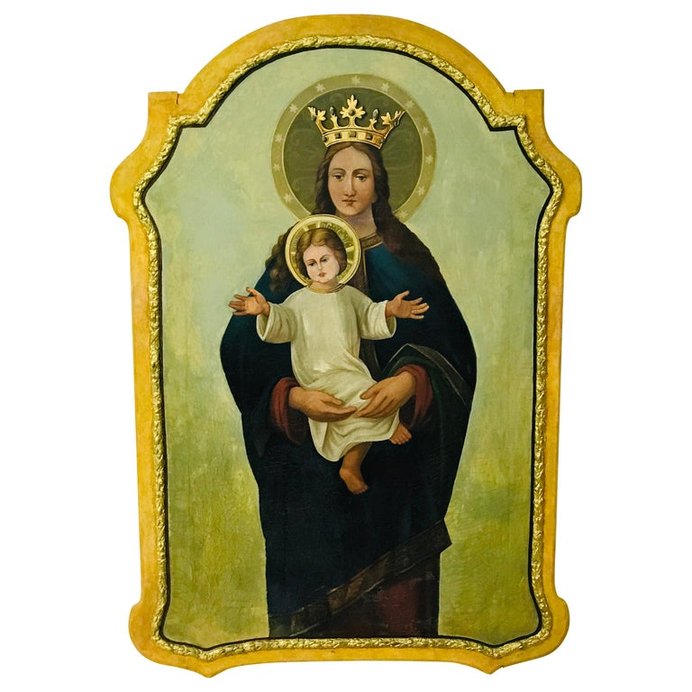 "Madonna with Child ""1860"" For Sale"