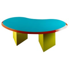 Madonna Wooden Table, by Arquitectonica from Memphis Milano