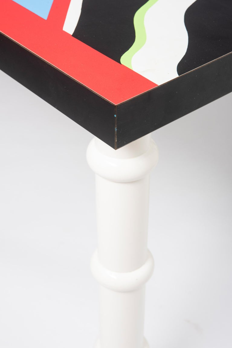 """Table """"Madras"""" by Nathalie du Pasquier for Memphis, Italy, circa 1986 For Sale 1"""