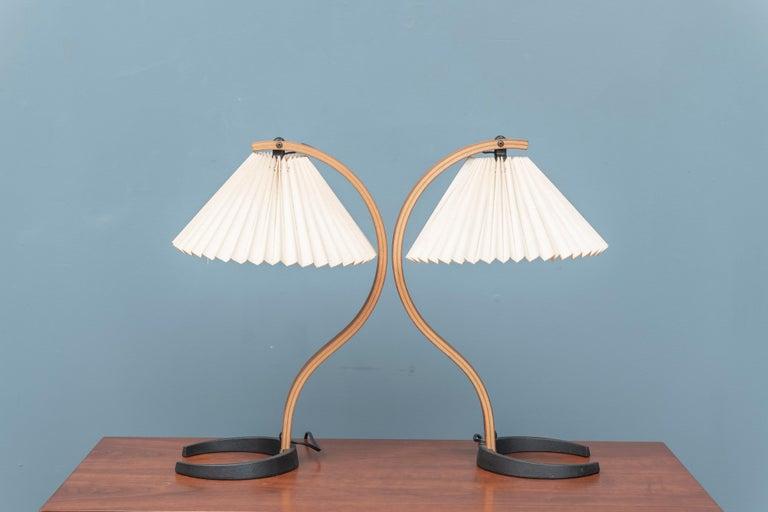 Scandinavian Modern Mads Caprani Table Lamps, Model 841