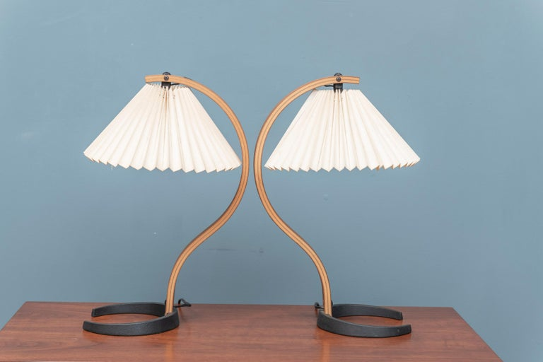 Late 20th Century Mads Caprani Table Lamps, Model 841