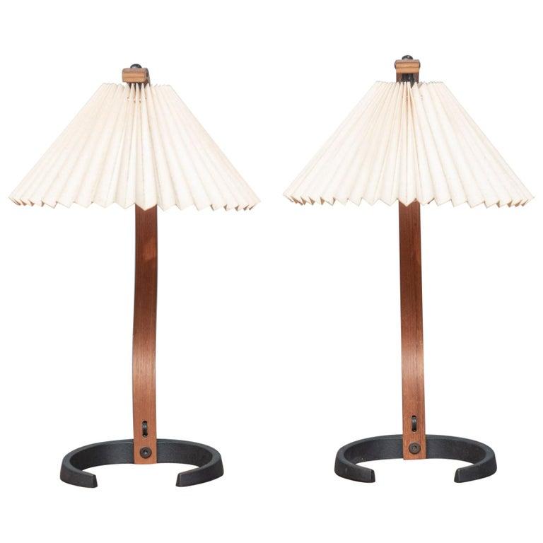 Mads Caprani Table Lamps, Model 841