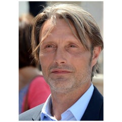Mads Mikkelsen Authentic Strand of Hair