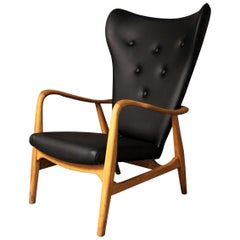 Madsen and Schubell Wingback Lounge Chair for Vik and Blinheim