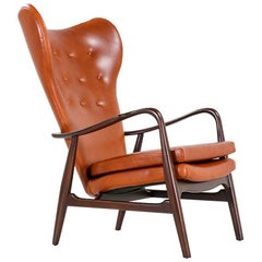 Madsen & Schubel Model 280 Wingback Lounge Chair for Vik & Blindheim