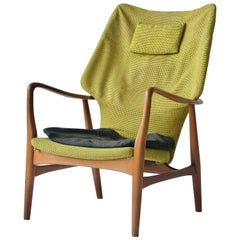Madsen & Schubell High Back Lounge Chair